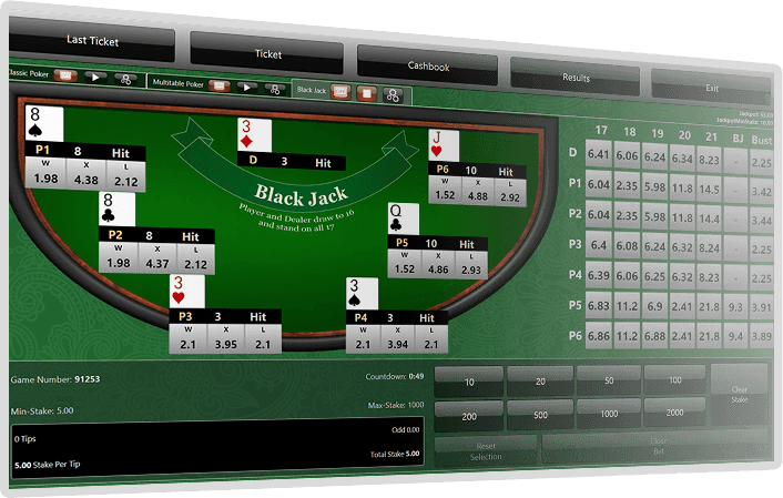 Black Jack Screenshot